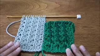 new super scarf Tunisian crochet stitch #1