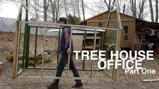 A $400 Backyard Tree House Office, Cabin, Or Shack... Part One