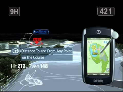 Gps Entfernungsmesser Golf : Golf buddy world platinum gps entfernungsmesser youtube