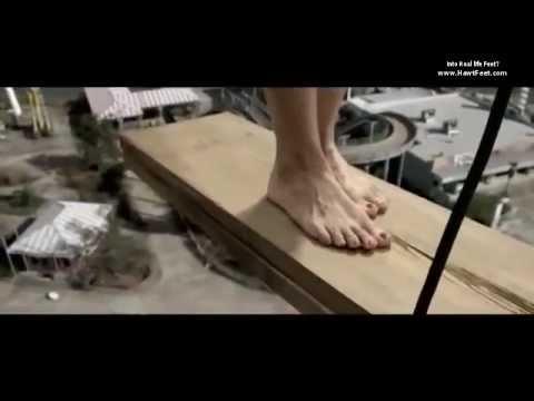Annalaina Marks barefoot and in bondage