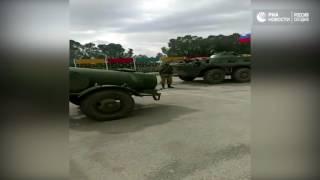 Военные в Африне