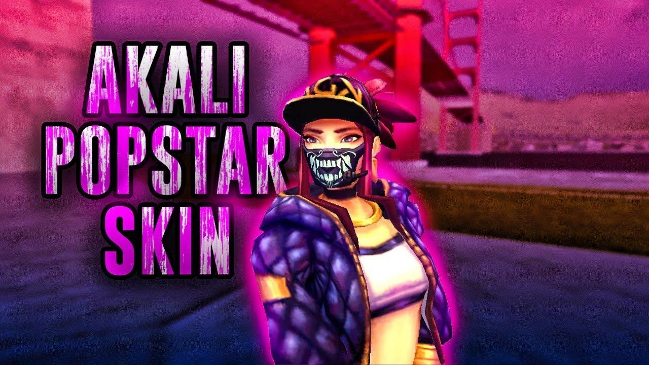 Akali KDA from LoL for GTA SA