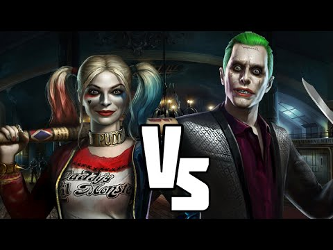 INJUSTICE The Joker Vs Harley Quinn Suicide Squad Movie Discussion