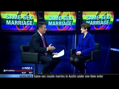 Attorney talks state's first legal same-sex marriage