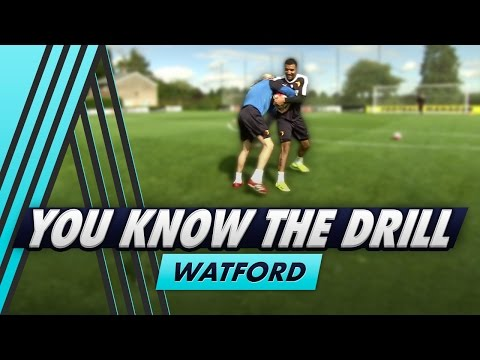 Wrestling and Finishing   You Know The Drill - Watford with Troy Deeney