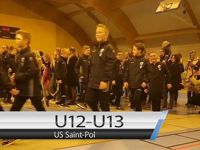 Défilé des équipes jeunes de l'US Saint-Pol