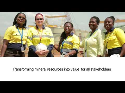 Motion Graphics - Newmont Ghana Ahafo Mine @12