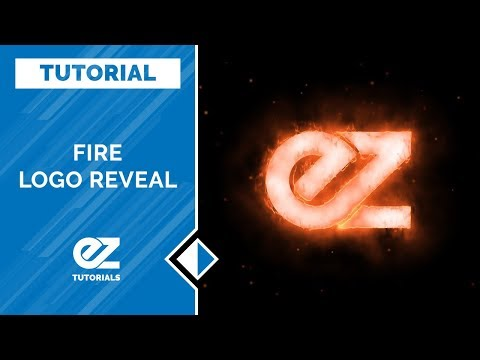 How To Create A Fire Logo Reveal In After Effects Tutorial (Free Plugins)
