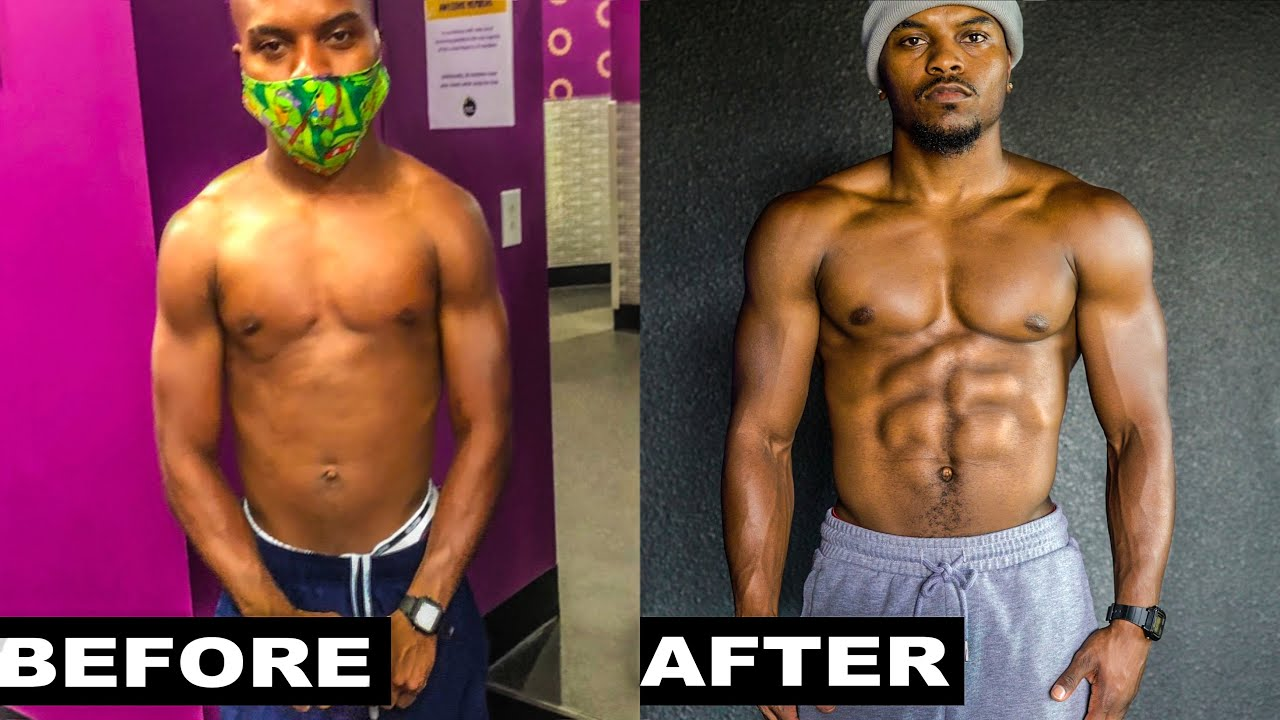 MY LIL BROTHER 6 MONTH NATURAL TRANSFORMATION(SKINNY TO MUSCULAR)
