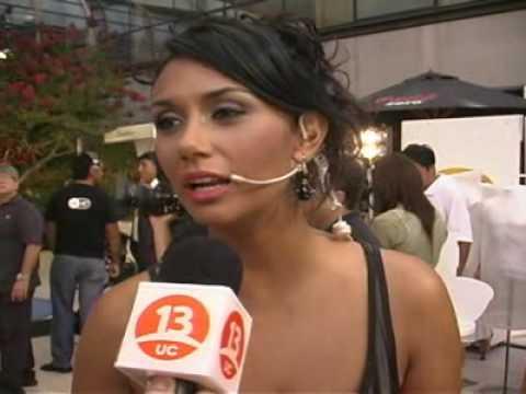 Entrevista a Pamela Dias - Viña 2010 - Canal 13