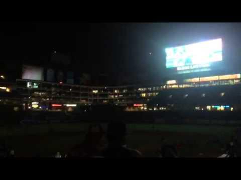 Texas Rangers Baseball Star Wars Night