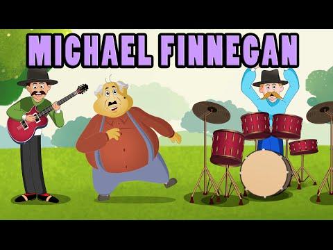 Michael Finnegan (HD with Lyrics) - Nursery Rhymes by EFlashApps