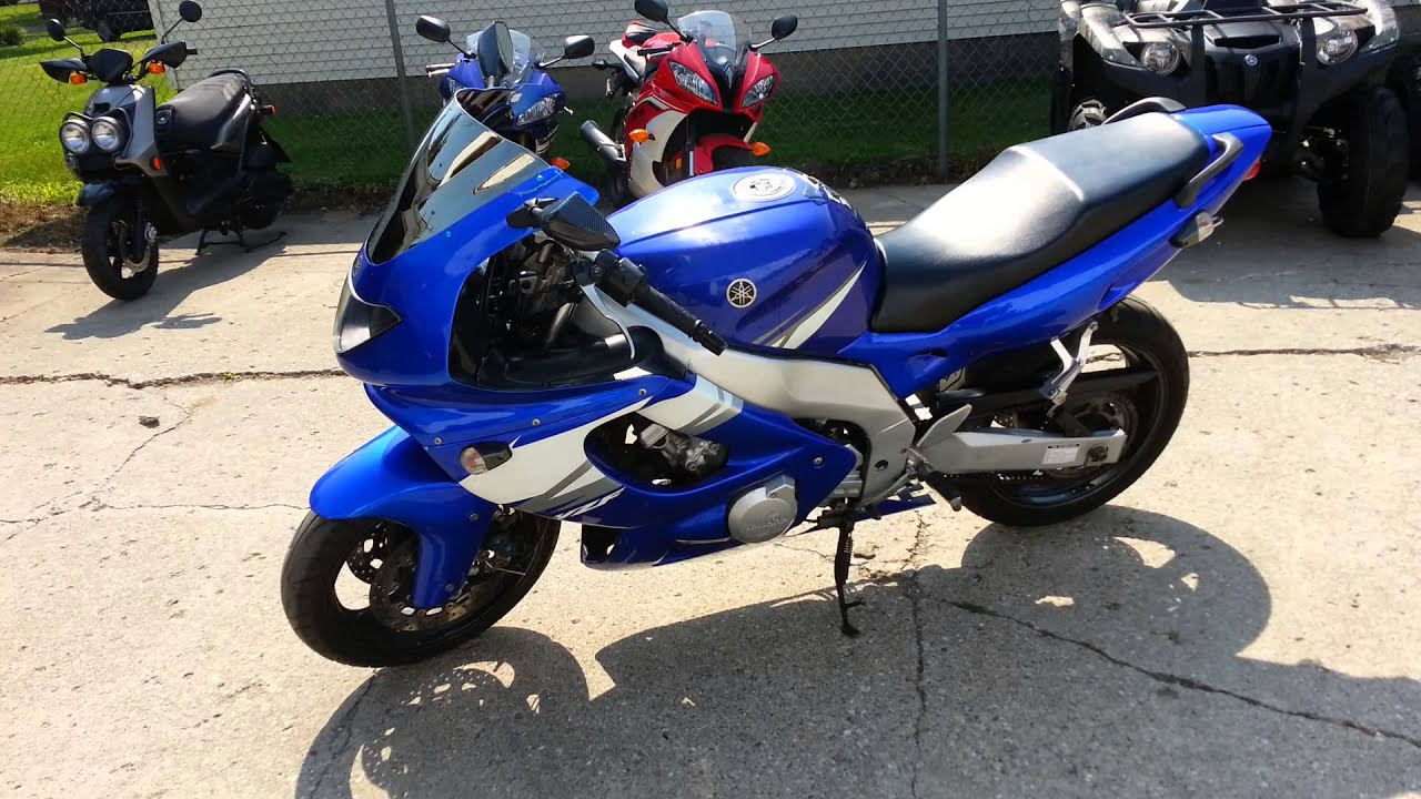 Crotch Rocket For Sale >> 2004 Yamaha YZF600R Crotch Rocket For Sale U2080 for only ...