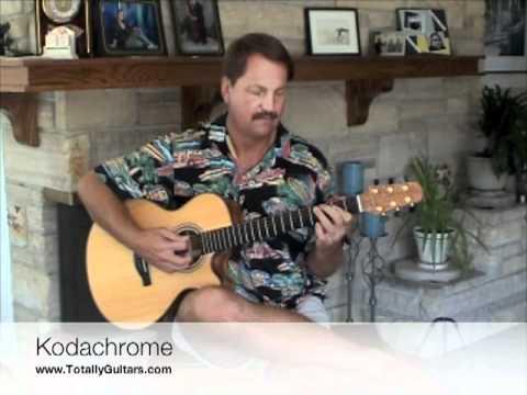 Kodachrome Free Guitar Lesson Paul Simon Youtube