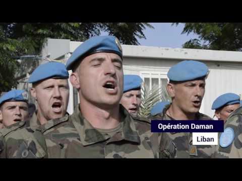La Marseillaise chantée par les militaires engagés en opérations ou missions