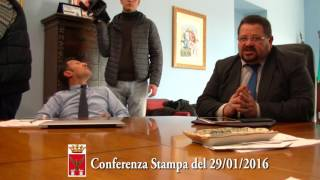 conferenza stampa 29/01/2016