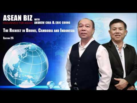 20160128 ASEAN BIZ: The Richest in Brunei, Cambodia and Indonesia