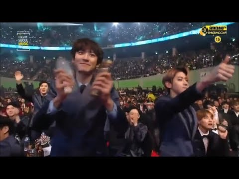 EXO being EXTRA in award shows 2017