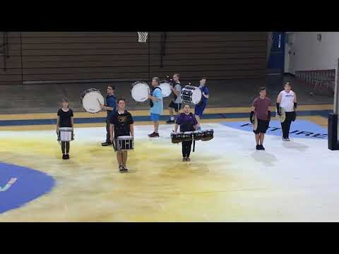 "Osceola Fundamental High School 2019 drumline ""Always Now"""