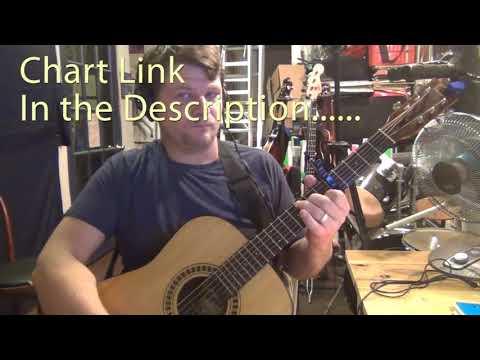 Lovesick Blues (Hank Williams) Guitar Chord Chart - Capo 5th