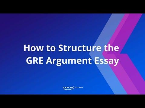 Gre argument essay template