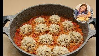Нежнейшие Тефтельки очень похожие на Ёжики в Вкуснейшем Соусе.