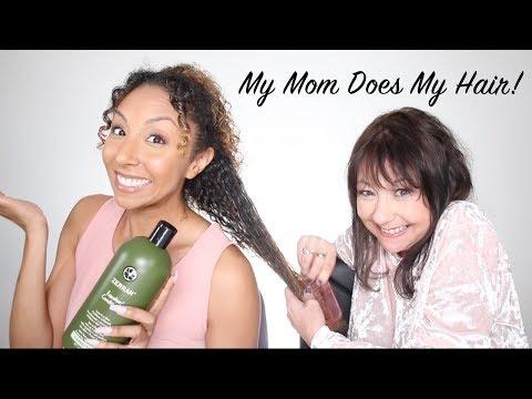 My Mom Does My Hair! | BiancaReneeToday thumbnail