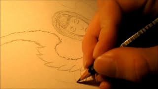 How To Draw A Praying Angel (Tattoo Design)