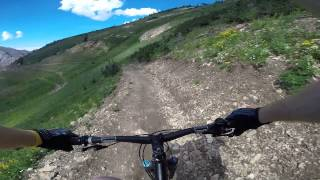 Snowbird - Big Mountain Trail - Top section