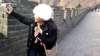 Oh Beijing (Oh Tokyo parody) at Great Wall of China