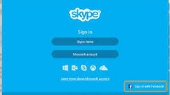 Use Skype as Facebook Messenger For PC