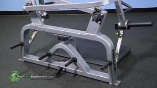 Precor for sale FLITE plate loaded Shoulder Shrug used fitness equipment