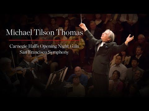 2018� Carnegie Hall Opening Night with Michael Tilson Thomas, Renée Fleming, and Audra McDonald
