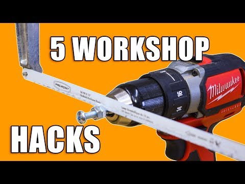 5 Quick Workshop Life Hacks Part 2 – Woodworking Tips and Tricks