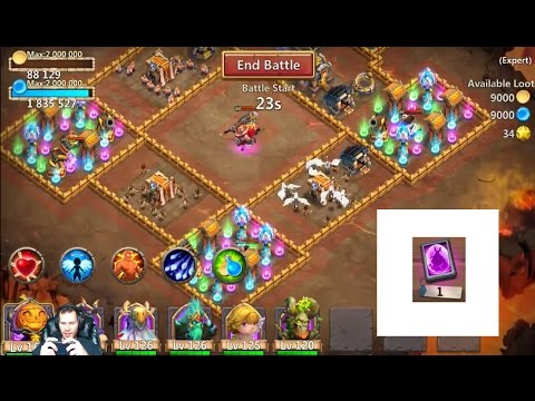 JT'S Free 2 Play Expert Dungeon 3 (1-10) + More Castle Clash