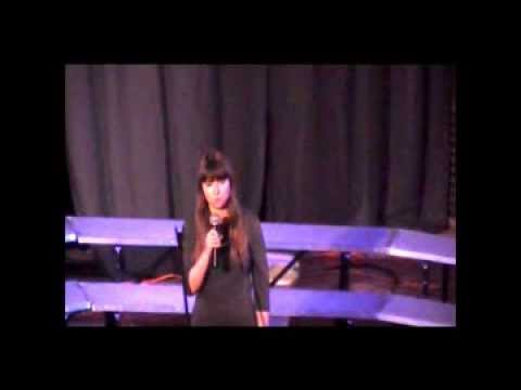 Gabrielle McCormack Gowanda High School Cabaret Night