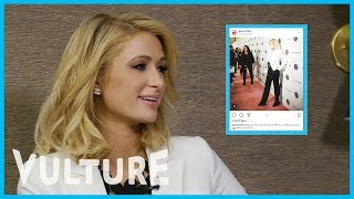 Paris Hilton Breaks Down Instagram Etiquette With Bert Marcus