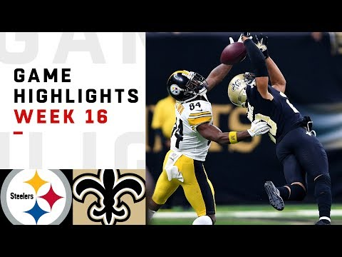 Steelers vs. Saints Week 16 Highlights | NFL 2018
