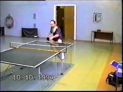 TableTennis practice1994 year.Alexander Chaplin. RostovDon.Russia