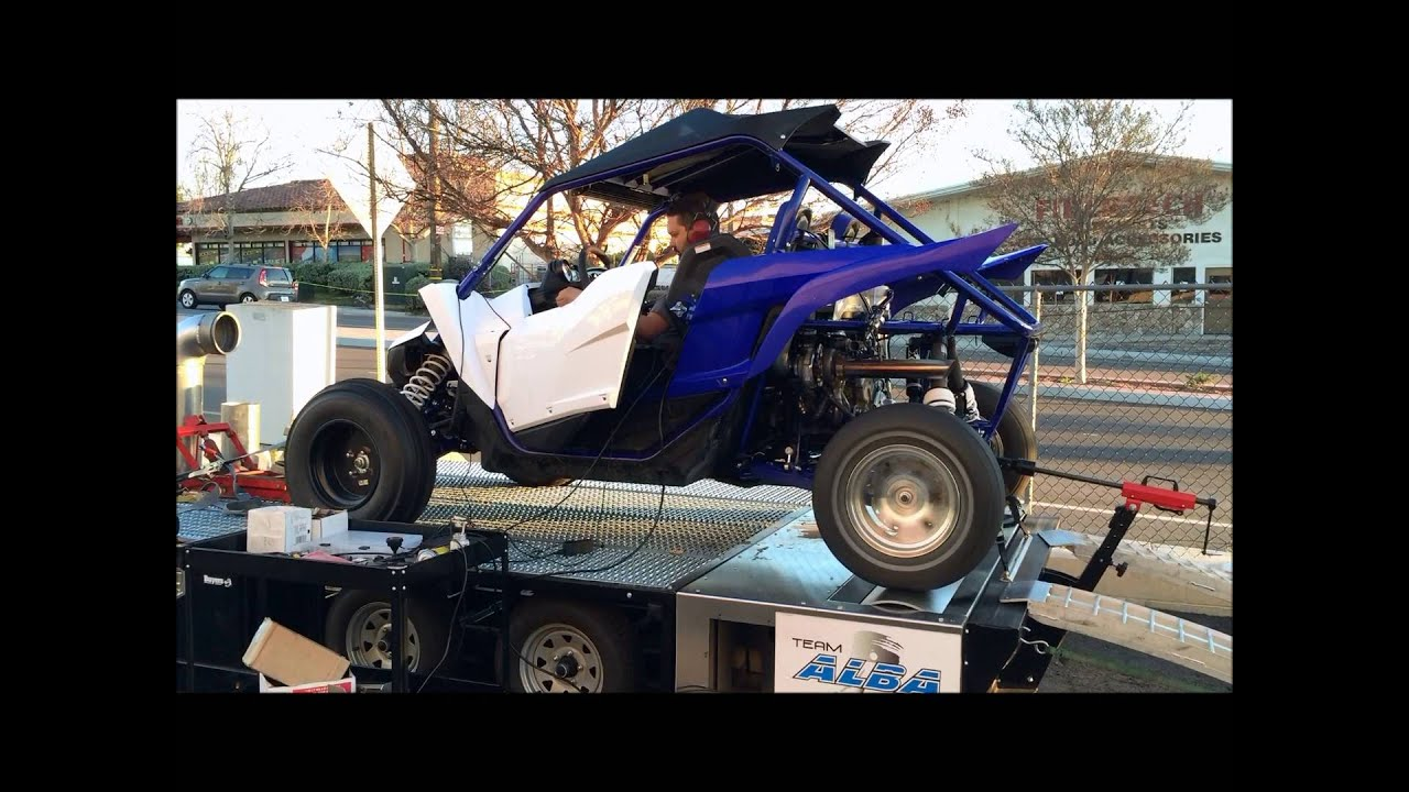 Alba racing built 400hp yxz1000r dyno doovi for Yamaha yxz1000r turbo