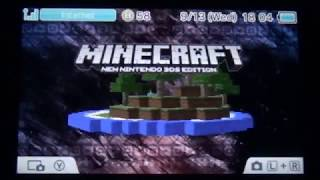 Minecraft New 3DS Edition first reaction (RLP)