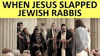 When JESUS Exposed all the Jewish Rabbis ||