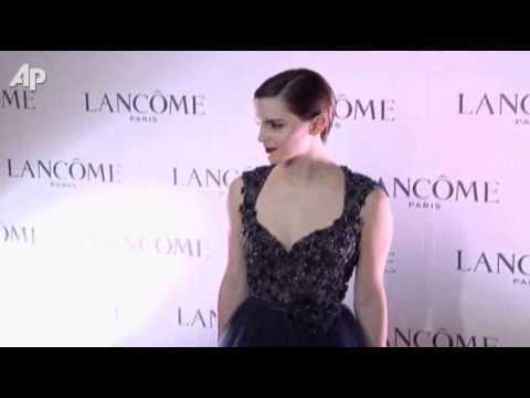 Emma Watson Tours in Hong Kong With Lancome