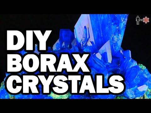 DIY Borax Crystals - Man Vs Science #5