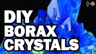 DIY Borax Crystals - Man Vs Science #5