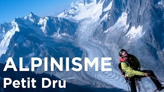 #1 Petit Dru voie normale Chamonix Mont-Blanc alpinisme premier base jump wingsuit - 9127
