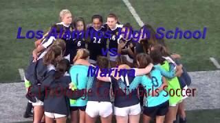 Video Los Alamitos HS Girls Soccer v Marina (2/1/18) download MP3, 3GP, MP4, WEBM, AVI, FLV Oktober 2018