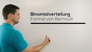 Binomialverteilung, Formel von Bernoulli, Stochastik, Bernoulli-Formel | Mathe by Daniel Jung thumbnail