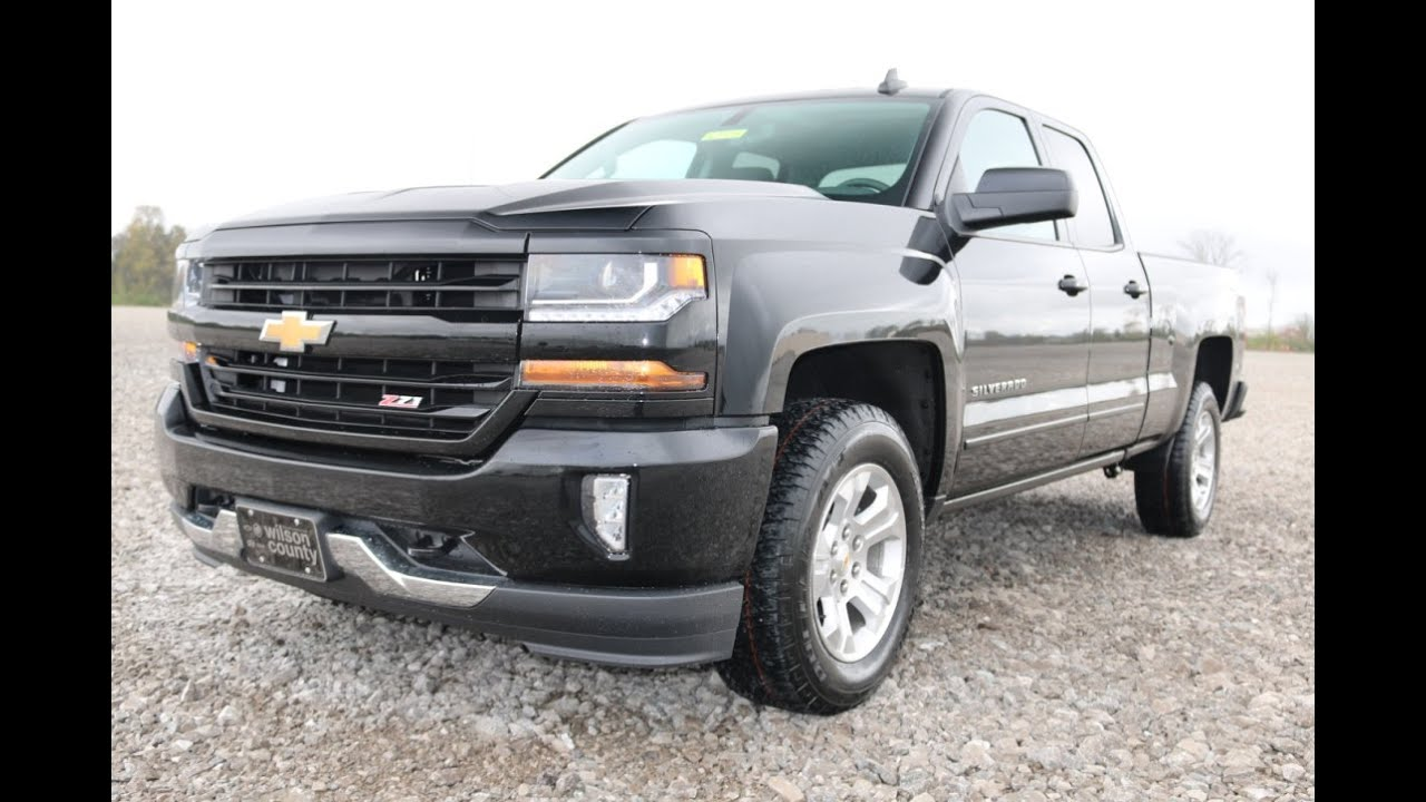 2016 Chevrolet Silverado Z71 4x4 Lt Double Cab 4x4 First Look At Wilson County Chevy Lebanon Tn