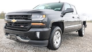 2016 Chevrolet Silverado Z71 4x4 LT Double Cab  4x4 First Look at Wilson County Chevy Lebanon, TN